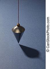 藍色, 垂直, 鉛錘, 背景