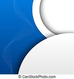 藍色, 摘要, 背景, 3d