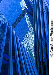 藍色, 曼哈頓