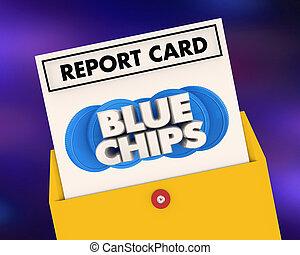 藍色, 等級, 頂部, priorities, 得分, 插圖, 報告, 3d, 晶片, 卡片, 目標