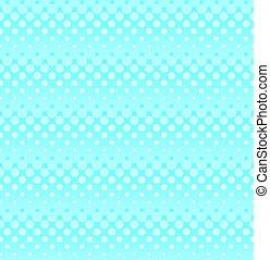 藍色, 网, 圖案, ligh, seamless, halftone, design.