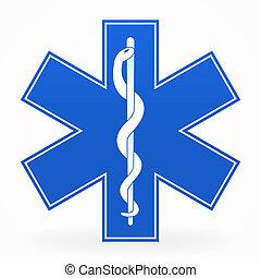 藍色, 醫學的徵候