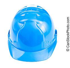 藍色, 鋼盔, 被隔离
