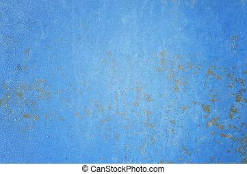 藍色, 鋼, 鏽, 背景