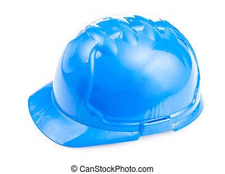 藍色, 頭盔, 被隔离