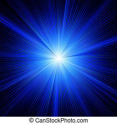 藍色, 顏色, eps, burst., 設計, 8