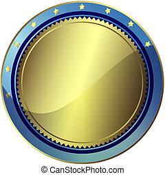 藍色, 10), (vector, eps, 褒獎, 銀色