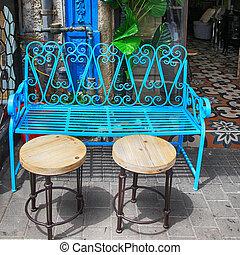 藍色, jaffa, 電話, 葡萄酒, aviv, 鐵, 跳蚤市場, 家具