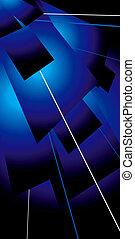 藍色, lazer, 輕拍
