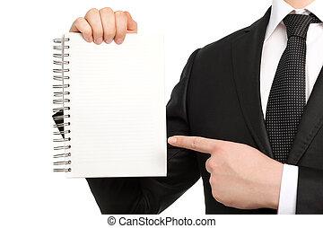 藏品, 商人衣服, 被隔离, 領帶, 筆記本