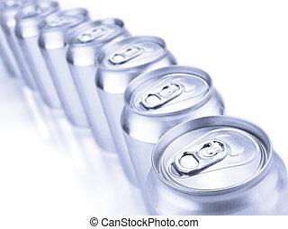 蘇打, 罐頭, 銀