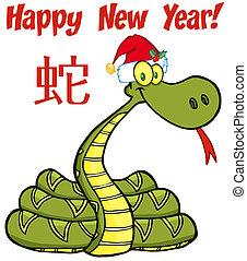 蛇, 聖誕老人, 正文