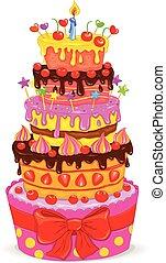 蛋糕, celebratory