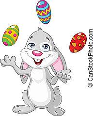蛋, 復活節bunny, 玩戲法