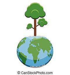 行星地球, 樹