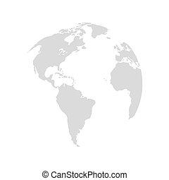 行星地球, 設計, 地圖