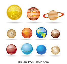 行星, 太陽