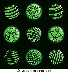 行星, icons., 技術