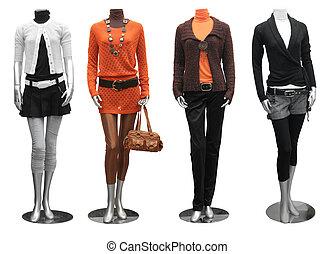 衣服, 時裝模特, 時裝