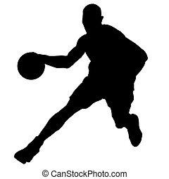 表演者, 籃球球