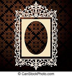 裝飾, 葡萄酒, 框架