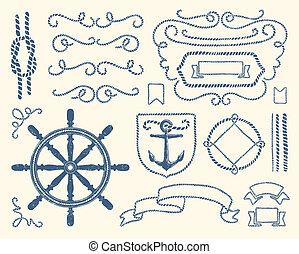 裝飾, 集合, 船舶