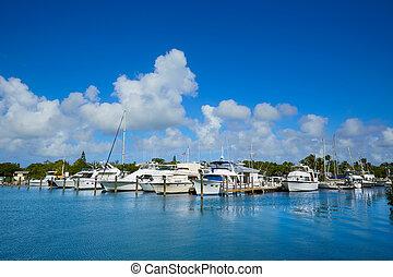 西方, 佛羅里達, 曲線, 鑰匙, 小游艇船塢, 駐軍