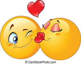 親吻, emoticons