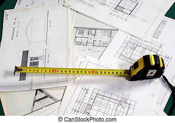 計劃, 建築學