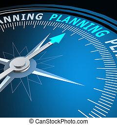 計劃, 詞, 指南針