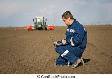 計算, 農夫