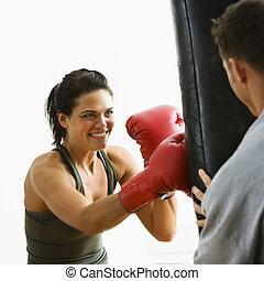 訓練, 婦女, 健身