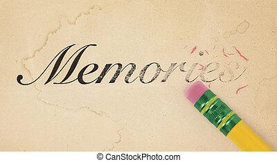 記憶, 清除
