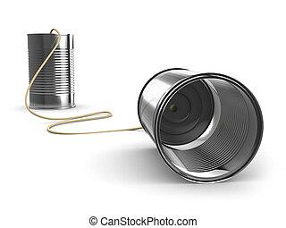 設備, 通訊, 罐頭能, 3d