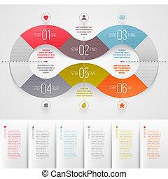 設計, 樣板, infographics