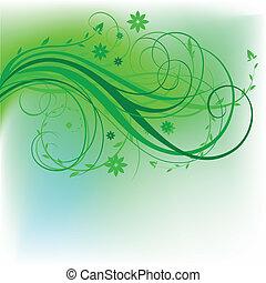 設計, 自然, 綠色