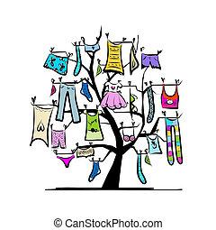 設計, 衣帽架, 衣櫃, 你