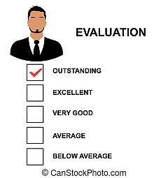 評估, 形式