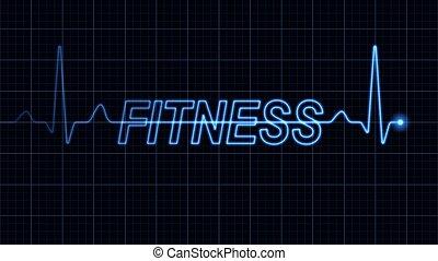 詞, 心電圖, 健身