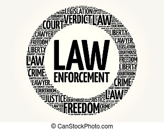 詞, 雲, 強制執行, 法律