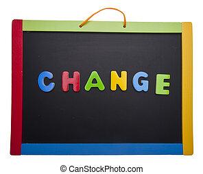 課, 變化