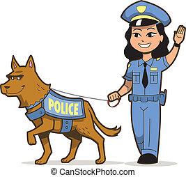 警犬, k-9