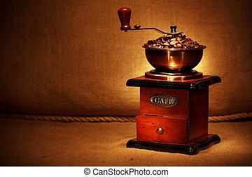豆, 咖啡磨工