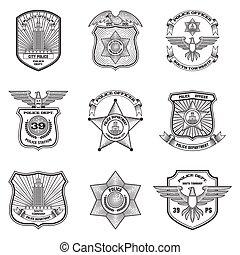 象征, 集合, 警察