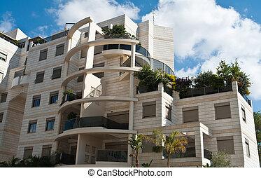 豪華, 現代, 公寓, 設計, 共管