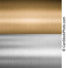 質地, 金屬, 銀, 青銅