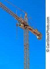 起重機, 建築工地