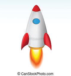 起飛, 火箭
