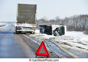 車禍, 冬天