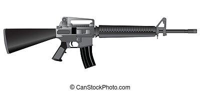 軍隊, 步槍